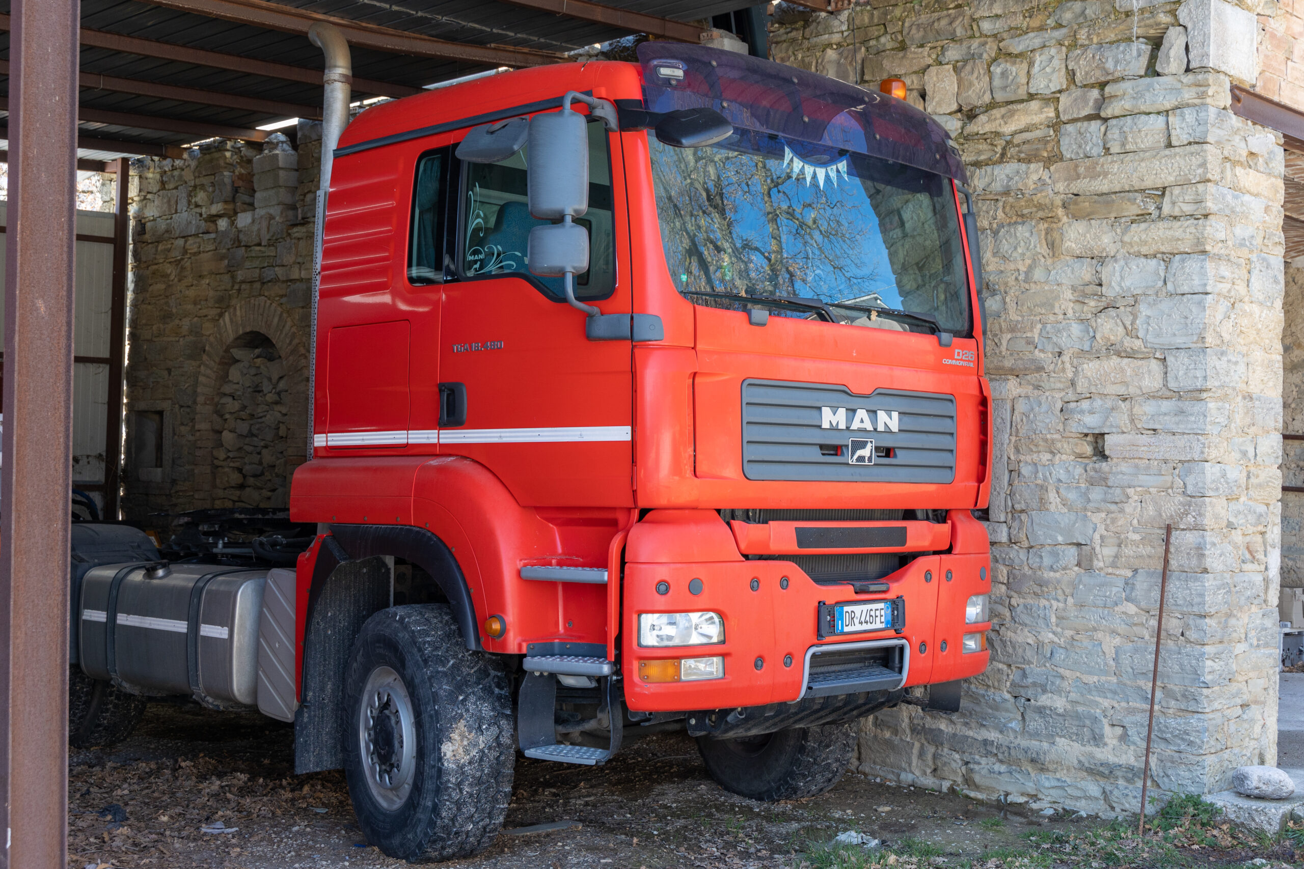 TRATTORE CAMION MAN TGA 18.480
